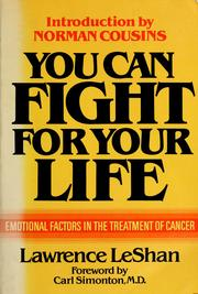 Cover of: You can fight for your life by Lawrence L. LeShan