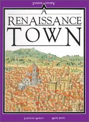 Cover of: A Renaissance Town | Jacqueline Morley