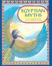 Cover of: Egyptian myths