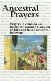 Cover of: Ancestral Prayers