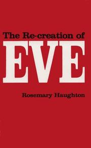 Cover of: The Re-Creation of Eve | Rosemary Haughton