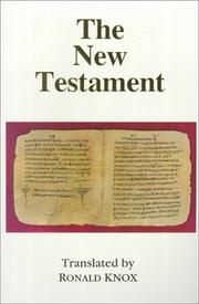 Cover of: The New Testament