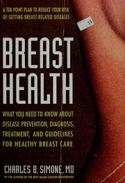 Breast he alth by Charles B. Simone