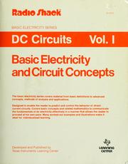 Basic electricity and DC circuits by Ralph A. Oliva, Charles W. Dale