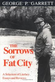 Cover of: The sorrows of fat city
