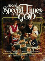 Cover of: More special times with God | David Shibley