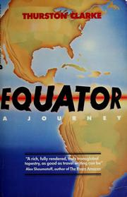 Cover of: Equator by Thurston Clarke