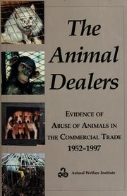 Cover of: The animal dealers | Mary Ellen Drayer