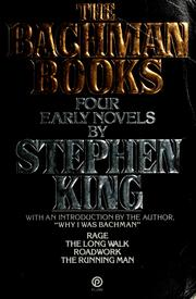 Cover of: The Bachman books by Stephen King