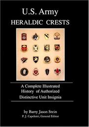 Cover of: U.S. Army heraldic crests