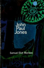 Cover of: John Paul Jones by Samuel Eliot Morison