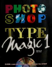 Cover of: Photoshop type magic | David Lai