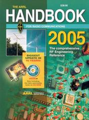 Cover of: The ARRL Handbook for Radio Communications 2005