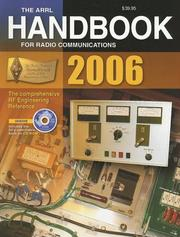 Cover of: Arrl Handbook for Radio Communications 2006
