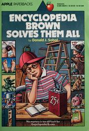 Cover of: Encyclopedia Brown solves them all by Donald J. Sobol