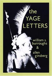 Cover of: The Yage Letters