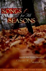 Cover of: Songs for all seasons | Charles R. Swindoll