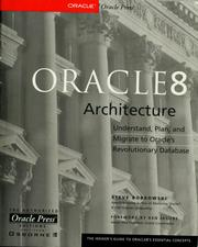 Oracle8 architecture