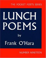 Cover of: Lunch Poems (Pocket Poets Series: No. 19)