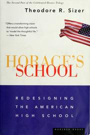 Cover of: Horace's school | Theodore R. Sizer