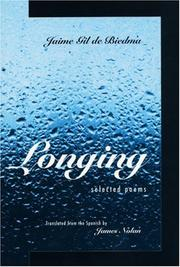 Cover of: Longing