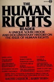 Cover of: The Human rights reader | Walter Laqueur
