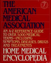 Cover of: Home Medical Encyclopedia | American Medical Association