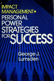 Impact management by George J. Lumsden