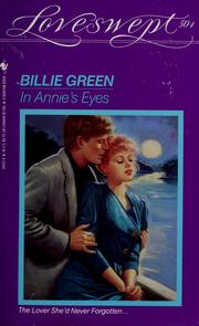 Cover of: In Annie's eyes | Billie Green