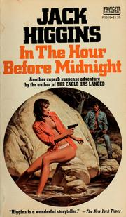 Cover of: In the hour before midnight | Jack Higgins