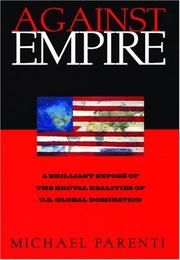 Cover of: Against empire