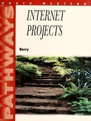 Cover of: Internet projects by Minta Berry
