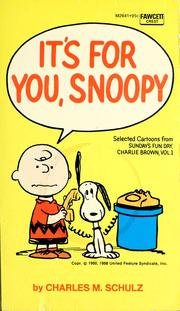 Cover of: It's for you, Snoopy by Charles M. Schulz