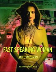 Cover of: Fast speaking woman