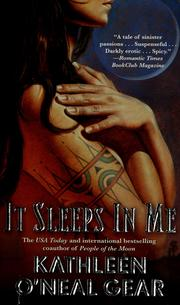 Cover of: It Sleeps in Me by Kathleen O'Neal Gear