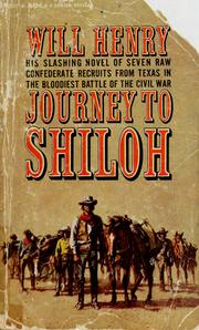 Cover of: Journey to Shiloh | Will Henry