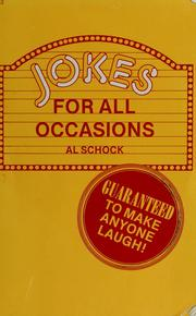 Cover of: Jokes for all occasions | Al Schock