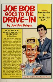 Cover of: Joe Bob goes to the drive-in | Joe Bob Briggs