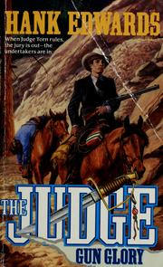 Cover of: The judge by Hank Edwards