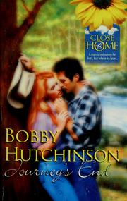 Cover of: Journey's End | Bobby Hutchinson