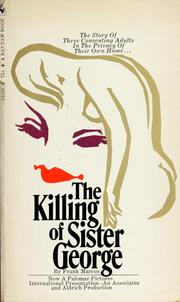 Cover of: The killing of Sister George | Frank Marcus