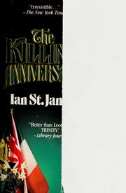 Cover of: The killing anniversary | Ian St. James