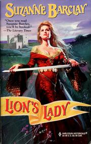 Cover of: Lion's lady | Suzanne Barclay