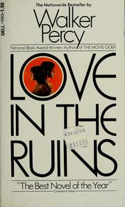 Cover of: Love in the ruins | Walker Percy