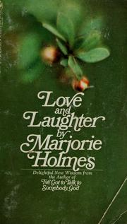 Cover of: Love and laughter | Marjorie Holmes