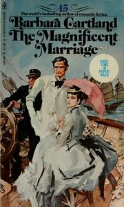 Cover of: The magnificent marriage | Barbara Cartland