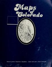 Cover of: Maps of Colorado | Perry Kassing