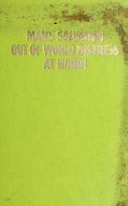 Cover of: Man's salvation out of world distress at hand! | Watch Tower Bible and Tract Society