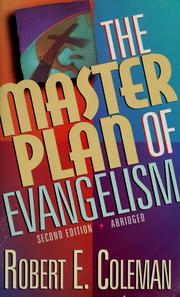 Cover of: The master plan of evangelism | Robert Emerson Coleman