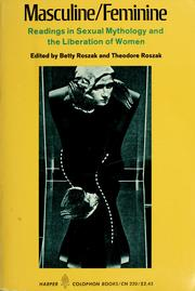 Cover of: Masculine / feminine by Betty Roszak